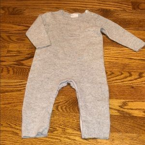 Nordstrom 100% cashmere baby coverall 9M